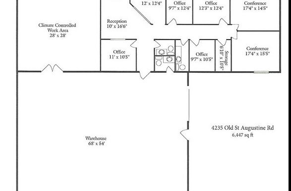 4235 St. Augustine Rd Floor Plan